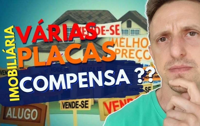 COLOCAR VÁRIAS PLACAS DE VENDA NO SEU IMÓVEL? (MINHA OPINIÃO) | JEAN PIERRE CORRETOR DE IMÓVEIS